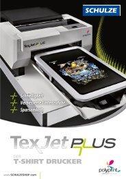 Broschüre TexJet Plus