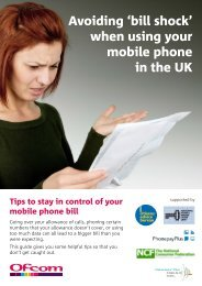 Download a PDF version of this guide - Consumers - Ofcom
