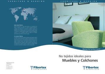 No tejidos ideales para Muebles y Colchones - Fibertex AS