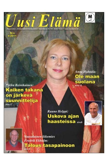 Anne Huhtala - Uusi Elämä