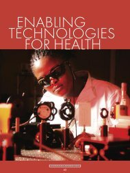 enabling technologies for health - CSIR