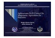 Aplicaciones en el Control de Maquinaria. Agricultura de ... - ITACyL