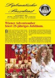 VIP CORNER - Diplomatischer Pressedienst