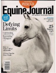 Equine Journal - July 2012 - Phelps Media Group