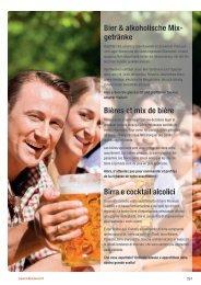 Bier & alkoholische Mix- getränke Bières et mix de ... - Lekkerland.ch