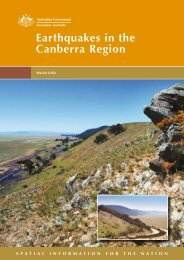 Earthquakes in the Canberra Region - Geoscience Australia