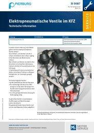 Elektropneumatische Ventile im KFZ - Motor-Talk