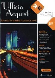 . ' Nov I Dic 2010 - Acquisti & Sostenibilità