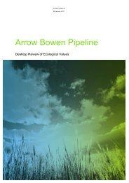 Appendix 3 - Ecological Assessment Report (PDF) - Arrow Energy