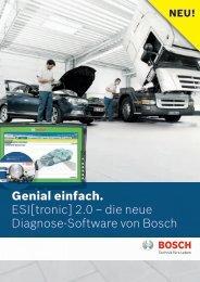 Genial einfach. ESI[tronic] 2.0 - Bosch Automotive Aftermarket