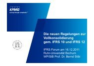 Folien zum Vortrag - Institute of Management (ifu) - Ruhr-Universität ...