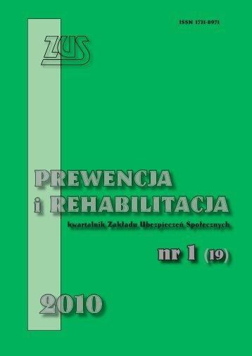 Prewencja i rehabilitacja 1/2010