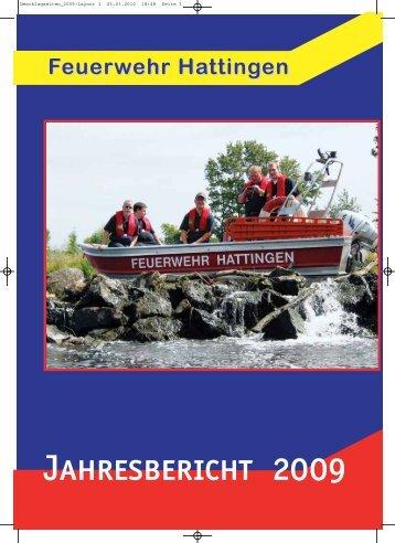 Jahresbericht Hattingen 2009 - Feuerwehr Hattingen