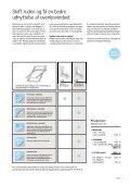 Vedligehold dit ovenlys og få mest muligt ud af dit vindue - Velux - Page 7