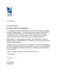 8 October 2012 Dear Parent/Guardian Re ... - Downend School