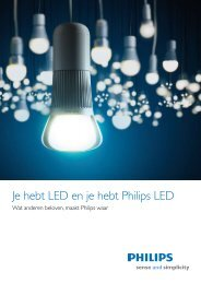 Je hebt LED en je hebt Philips LED - Downloads