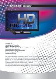 LED32RV1 - TV STAR