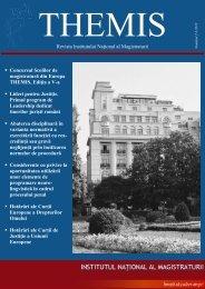 Themis nr. 2 si 3 din 2010.pdf - Institutul Naţional al Magistraturii