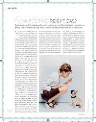 Think negative! - Wolf Reiser