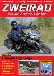 Triumph Tiger 1050 - ZWEIRAD-online