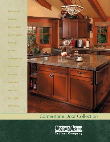 View Cornerstone Door Brochure Pdf 3m Canyon Creek Cabinet