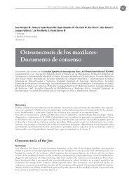 Osteonecrosis de los maxilares: Documento de consenso