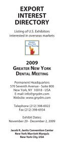 2008 Export Directory.indd - Greater New York Dental Meeting - Page 3