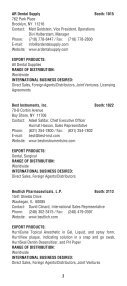 2008 Export Directory.indd - Greater New York Dental Meeting - Page 5