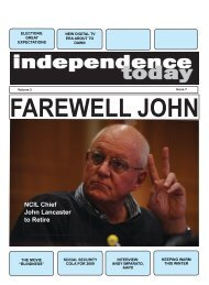 Issue 13 - Independence Today