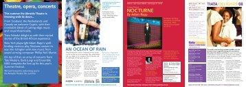 NOCTURNE Theatre, opera, concerts - Almeida Theatre