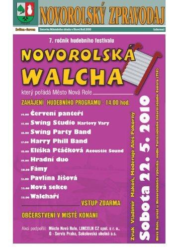 Novorolský zpravodaj 05/10 - Nová Role