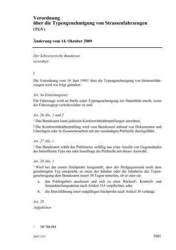 AS 2009 5805 - admin.ch