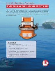 HVR02 - Hardened Voyage Recorder - L-3 Aviation Recorders