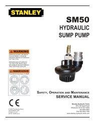 SM50 Sump Pump Operators Manual - Submarine Manufacturing ...