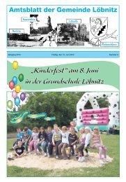 Herzlichen Glückwunsch - Gemeinde Löbnitz