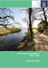 Overordnet Saneringsplan 2010 – 2012 November 2010 - Aarhus.dk