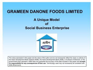 SWEETS AND SOURS OF SOCIAL BUSINESS: A CASE STUDY ON