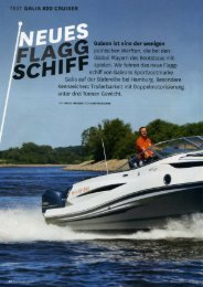 Testreport Galia 820 Cruiser 07-2012 - Galeon by HW ...