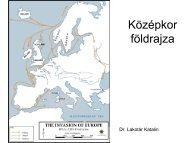 Középkor földrajza Európában