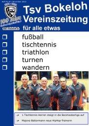 fußball tischtennis triathlon turnen wandern - Hauptverein
