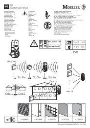 Xcomfort CSAP-01/XX 868,3 MHz - Moeller