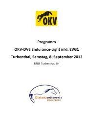 Programm OKV-DVE Endurance-Light inkl. EVG1 Turbenthal ...