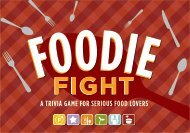 Foodie Fight - Chronicle Books