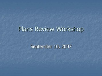 Water Quality Plan review - Blount County Government