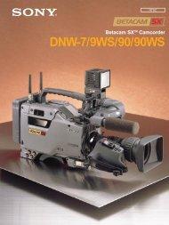 DNW-7 L/O-NTSC 9809** - BroadcastStore.com