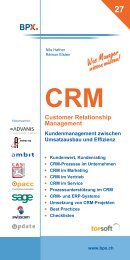 CRM - Customer Relationship Management - Opacc