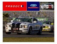 F R 5 0 0 C - Ford Racing Parts
