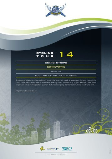 cycling t o u r - Velo-city 2009