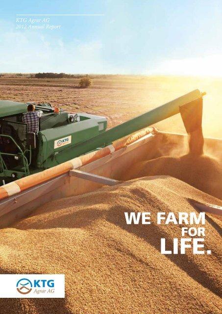 Annual Report 2012 - KTG Agrar AG