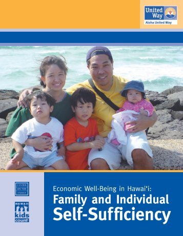Economic Well-Being in Hawaii (2007) - Center on the Family